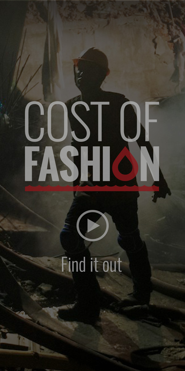 """Cost of Fashion"" Branding and Web Design"