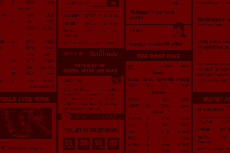 WordPress Widgets for New York Post